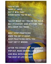 Volleyball You've Got What It Takes 11x17 Poster front