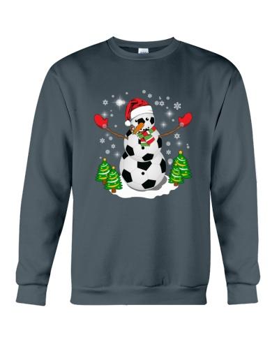 Soccer Christmas Snowman