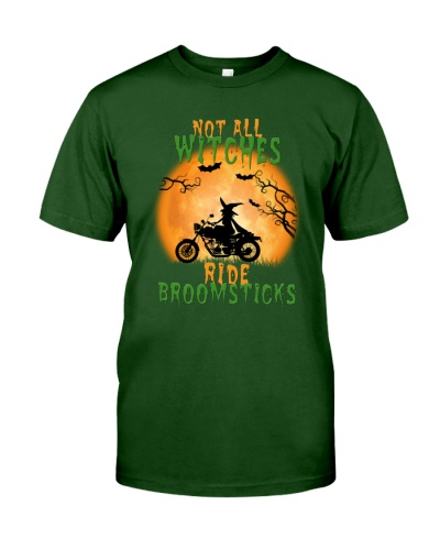 Motocycle Not All Witches Ride Broomsticks