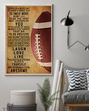 Football Today Is A Good Day 11x17 Poster lifestyle-poster-1