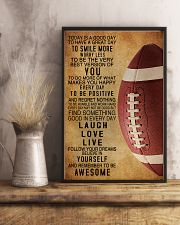Football Today Is A Good Day 11x17 Poster lifestyle-poster-3