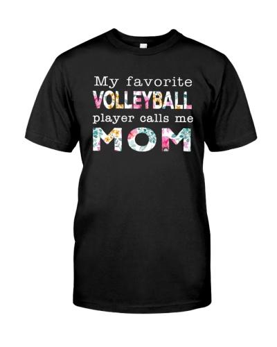 My Favorite Volleyball Player Calls Me Mom
