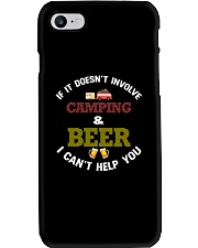 Camping and Beer Phone Case tile
