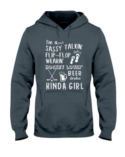 Hockey Loving Beer Drinking