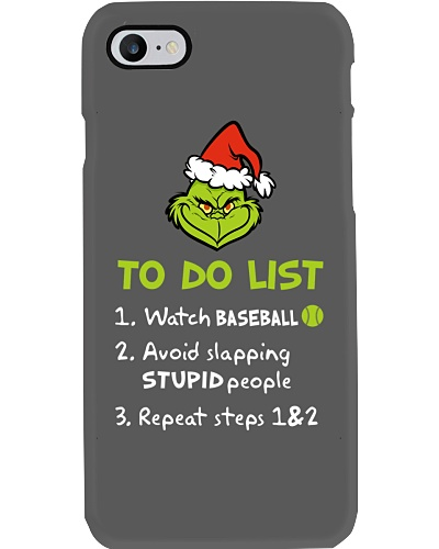 To Do List Watch Baseball