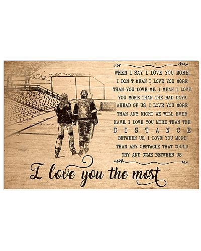 Hockey I Love You The Most