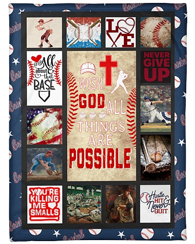 Baseball Wish God All Things Graphic Design