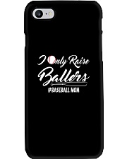 Baseball- I only raise ballers Phone Case thumbnail