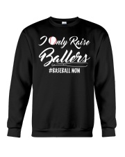 Baseball- I only raise ballers Crewneck Sweatshirt thumbnail