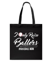 Baseball- I only raise ballers Tote Bag thumbnail