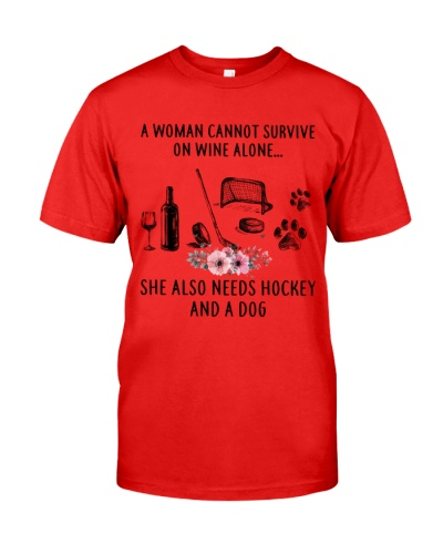 Hockey A Woman Can't Survive