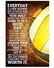 Volleyball Everyday Is A New Beginning 11x17 Poster front