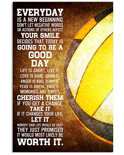 Volleyball Everyday Is A New Beginning