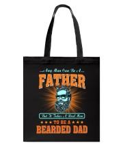 Bearded Dad Tote Bag thumbnail