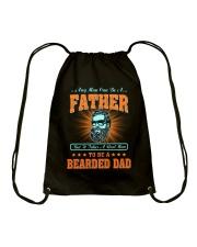 Bearded Dad Drawstring Bag thumbnail