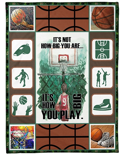 Basketball Funny It's Not How Big Graphic Design