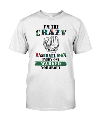 Baseball Mom Crazy