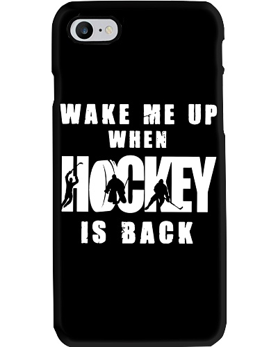 Hockey Wake Me Up When Hockey Is Back