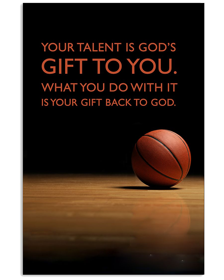 Basketball - Gift To You 11x17 Poster
