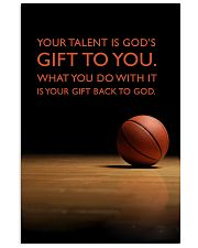 Basketball - Gift To You 11x17 Poster front