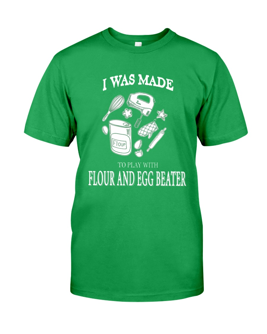Cake - FLOUR AND EGG BEATER Classic T-Shirt