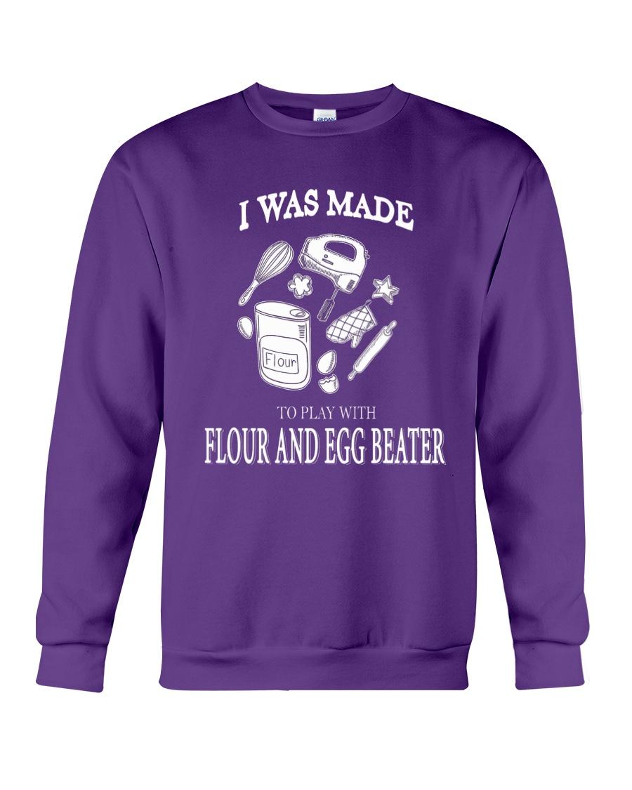 Cake - FLOUR AND EGG BEATER Crewneck Sweatshirt