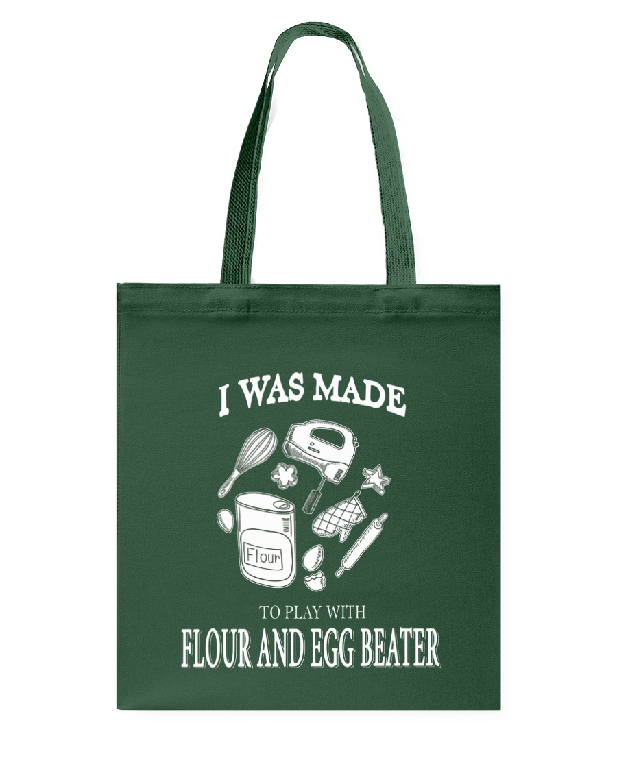 Cake - FLOUR AND EGG BEATER Tote Bag
