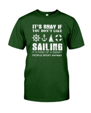 Sailing Sport Anyway Classic T-Shirt front