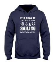 Sailing Sport Anyway Hooded Sweatshirt thumbnail