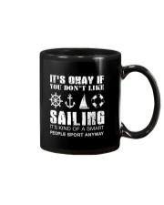 Sailing Sport Anyway Mug thumbnail