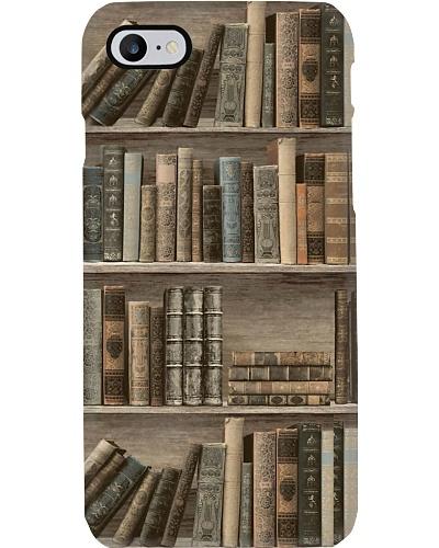 Bookshelf Phone Case