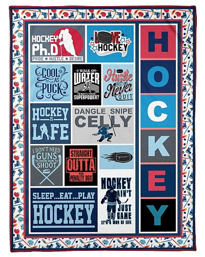 Hockey Funny Hockey Is Life Graphic Design