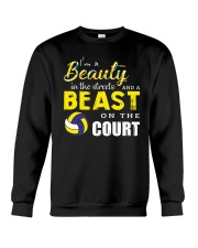 I'm A Beaury In The Streets Volleyball Crewneck Sweatshirt thumbnail
