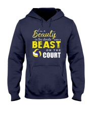 I'm A Beaury In The Streets Volleyball Hooded Sweatshirt thumbnail