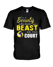 I'm A Beaury In The Streets Volleyball V-Neck T-Shirt thumbnail