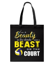 I'm A Beaury In The Streets Volleyball Tote Bag thumbnail