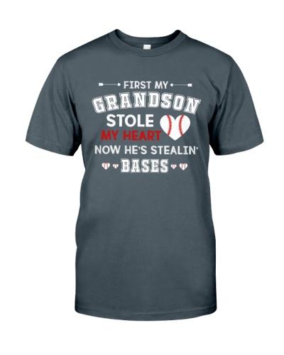 Baseball - Grandson Stole My Heart