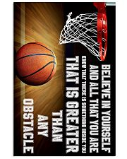 Believe In Yourself Basketball  11x17 Poster front