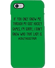 Hockey If You Only Know Me Phone Case thumbnail