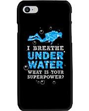Scuba Diving - I Breathe Under Water Phone Case thumbnail