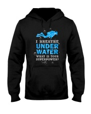 Scuba Diving - I Breathe Under Water Hooded Sweatshirt thumbnail