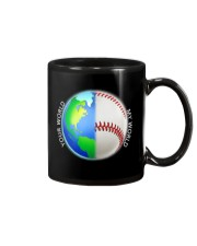 Baseball Your World My World Mug thumbnail