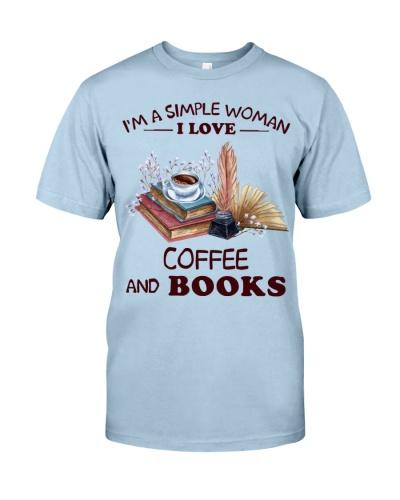 Books Coffee I'm A Simple Woman