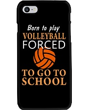Born To Play By Volleyball Phone Case thumbnail