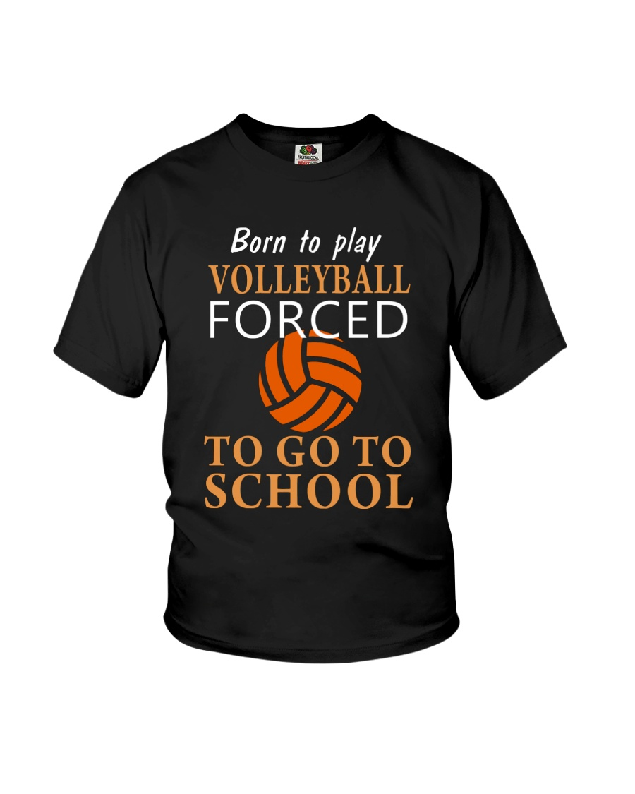 Born To Play By Volleyball Youth T-Shirt