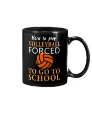 Born To Play By Volleyball Mug thumbnail