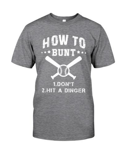 How To Bunt