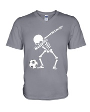 Soccer Dab V-Neck T-Shirt tile
