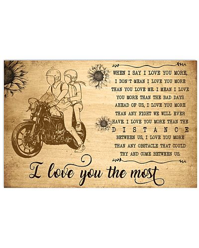 Motorcycle I Love You The Most
