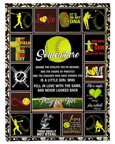 Softball Funny Somewhere Graphic Design